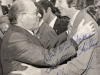 1978. From the left: Israel Prime Minister Menachem Begin and ?? after the Camp David summit.  September 19, 1978 co RS,