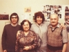 Mikhail Stoliar, Gita Stoliar, Shirley Molod co, Abe Stoliar, Moscow 1981