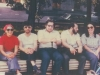 Connie Smukler, Yuli Kosharosky, Dov Ramm, Pavel Abramovich, Enid Wurtman, Bella Palatnik, Moscow, July 1974.