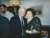 Frank Brodsky co, and Tanya Edelstein at Sharansky's home, Jerusalem 1995