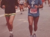 Bernie Dishler running in New York City marathon in behalf of refusenik Yuli Kosharovsky, 16,000 runners and 2 million 800 thousand spectators, 1982, co Enid Wurtman