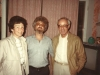 Yuli Koshaovsky co with Iggy and Albert Rielher, Moscow, 1980's