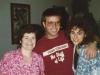 Sylvia, Steven and Martha, August, 1987
