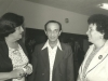 Irene Manekovsky, MK Chaim Landau, Enid Wurtman, UCSJ international Soviet Jewry meeting in Jerusalem, 1978, co Enid Wurtman