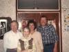 Igor Uspensky, Inna Uspensky, Enid Wurtman, Stuart Wurtman, Moscow, May 1989, co Enid Wurtman
