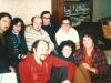 Back row:  POZ Yuri Berkovsky, Rita Beilin, Anatoly Sharansky, Leonid Volvovsky, Ida Nudel.  Front row:  Yosef Beilin, Dina Beilin, Enid Wurtman co, Moscow, October, 1976