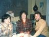 Inna Kosharovsky, Enid Wurtman co, Yuli Kosharovsky, Moscow, October 1976