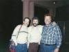Victor Brill, Roman Spector, Stuart Wurtman, Moscow, May 1989, co Enid Wurtman
