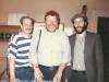 Victor Brill, Stuart Wurtman, ?, Marina Rosha synagogue, Moscow, May 1989, co Enid Wurtman  30. Nina Brill. Victor Brill, Mo