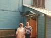 Enid Wurtman co, Victor Brill, Marina Rosha synagogue, Moscow, May 1989