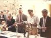 ?, US Ambassador Brown, Shmuel Ben Tsvi, Yuli Kosharovsky.  Meeting with US Ambassador in honor of Pesach, the Festival of Freedom in honor of refuseniks, April, 1989, co Enid Wurtman