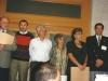 Jewish Agency honors former Refuseniks and former Prisoners of Zion. David Bar Tov, head of Nativ, Vladimir Prestin Yuli Kosharovsky, Ida Nudel, Sylva Zalmanson, Baruch Gur, Jerusalem, 1989, co Enid Wurtman