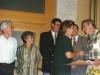 Jewish Agency honors former Refuseniks and former Prisoners of Zion. Yuli Kosharovsky, Baruch Gur,  Yuli Edelstein,Sylva Zalmanson, ? Jerusalem, 1989, co Enid Wurtman