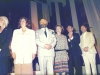 Rita Eker, Ruth Bar-On, Rabbi Abraham Soetendorp (Holland), ? Israel Singer?, World Jewish Congress event honoring former refuseniks, former Prisoners of Zion and Soviet Jewry activists at the Diapora Museum, Israel, 1990?, co Enid Wurtman