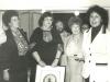 Enid Wurtman, Irene Manekovsky, Mikhail Mager, Lynn Singer, Dina Beilin, UCSJ reception in Jerusalem at the home of June and Ron Daniels, spring 1978, co Enid Wurtman