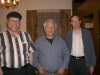 Henry Gerber, Yuli Kosharovsky, Glenn Richter, Jerusalem, May 18, 2004, co Enid Wurtman
