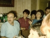Farewell party for Israeli delegation at Kholmiansky apt.  Moscow, September 10, 1985.