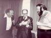 Nechemia Levanon, Prime Minister Menachem Begin, Stuart Wurtman, Jerusalem, spring 1978
