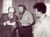 1978. Prime Minister Menachem Begin, Stuart Wurtman, Enid Wurtman co, Jerusalem, spring 1978