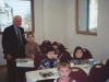Frank Brodsky co,  with Children in Jewish School,  Moscow 2001
