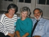 Lana Dishler co, briefing  Susan and Alan Fox before their visit to refuseniks in USSR, Philadelphia, 1980s
