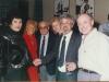 Yaffa Yarkony, Berenice Weston, Alexander Lerner, Naomi Leibler, Yuli Kosharovsky, Isi Leibler, Israel 1989.