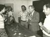 1979. From the left: Dina Beilin co, Lakey Kahn, Veniamin Fain, ?, Senator Henry Jackson, David Prital, Israel 1979