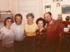 Maria Slepak, Vladimir Slepak, ? Kronich (USA) Alla Drugova, Iosif Beilin, co Dina Beilina, Moscow 1977