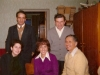 1975. Seated Dina Belin co, Rickie Gordon, Ralph Gordon. Standing Alexander Luntz, Victor Brailovsky