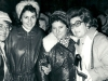 Lillian Hoffman, Dina Beilin co, Elena Mai-Seidel, ?, Moscow,  October 1977.