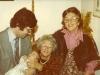 Renee Johnson (center) with her family, England co Dina Beilin