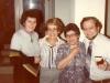 Dina Beilin co,, Lillian Hoffman, Ilana Fridman, Bob Gordon, Israel 1978.