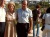 1982. Arnold Silvers, Florrie Silvers, Iosif Beilin, co Dina Beilin, Jerusalem, 1982