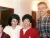 Muriel Sherbourne, Dina Belin, Adele and Joel Sandberg, Jerusalem, 1980 (?)