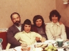 Schwartzman family with Shirley Molod co, Moscow 1981