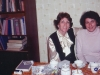 Shirley Molod with Dina Beilin, May 1977, co Alan Molod