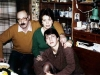 David, Emilia and Maxim Shrayer. Moscow, winter 1985-1986. Photo courtesy of Maxim D. Shrayer.