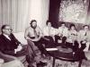 UCSJ delegation in a meeting with Prime Minister Menachem Begin, Jerusalem, spring 1978 : Menachem Begin, Stuart Wurtman, Enid Wurtman,   Joel Sandberg, Adele Sandberg, Glenn Richter.