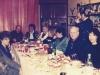 Vera Sheiba, Aba Taratuta, Ida  Taratuta,? , Gerry Rudman, Gail Shapiro, Frank Brodsky co, Bunny Brodsky, Ed Markov standing Leningrad 1987