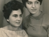 Dina Zevin-Aks and Lora Finkelstein, Sverdlovsk (today Ekaterinburg), photo 1966