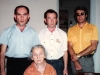 From the left: Gregory Goldstein, Isai Goldstein, ?; sitting - mother of Goldstein brothers. ?, 19??. co RS