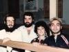 From the left Shlomo Veistuch, Itzhak (Zaza), Maya and Betzalel Shalolashvili. Tbilisi, 1986, co RS