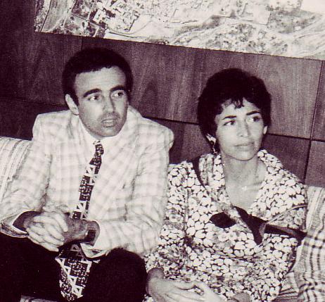 Адель и Джо Сандберг, 1978 год.