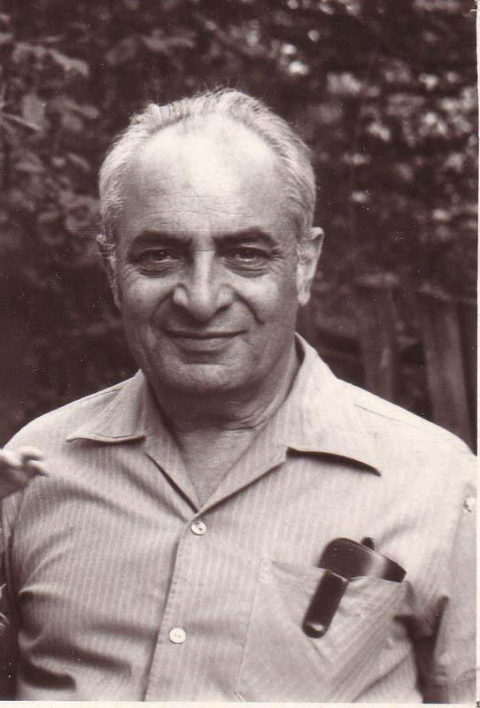 Профессор Александр Лернер, один из лидеров сионистского движения, Москва 1972 год.
