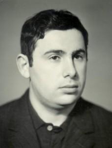 Израиль Палхан. Москва, 1972, архив И. Палхана.