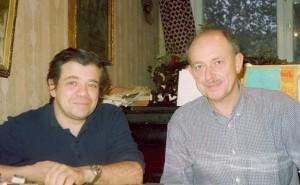 Михаил Членов и вице-президент Всемирного еврейского конгресса Изи Либлер