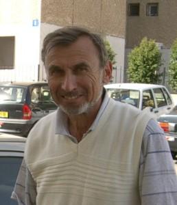 Владимир Престин перед интервью, Тель Авив, 28 февраля 2004 года.