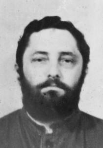 Давид Черноглаз, Владимирская тюрьба, май 1975 года, за месяц до освобождения. Тюремное фото. Личный архив Д.Мааяна.