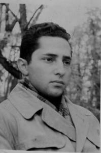 Давид Черноглаз после исключения из института за сионистскую деятельность, Ленинград, сентябрь 1960 года.