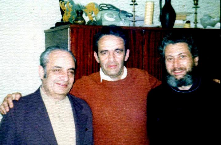Слева-направо: Александр Лернер, Александр Лунц, Владимир Слепак